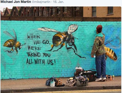 bee-wall